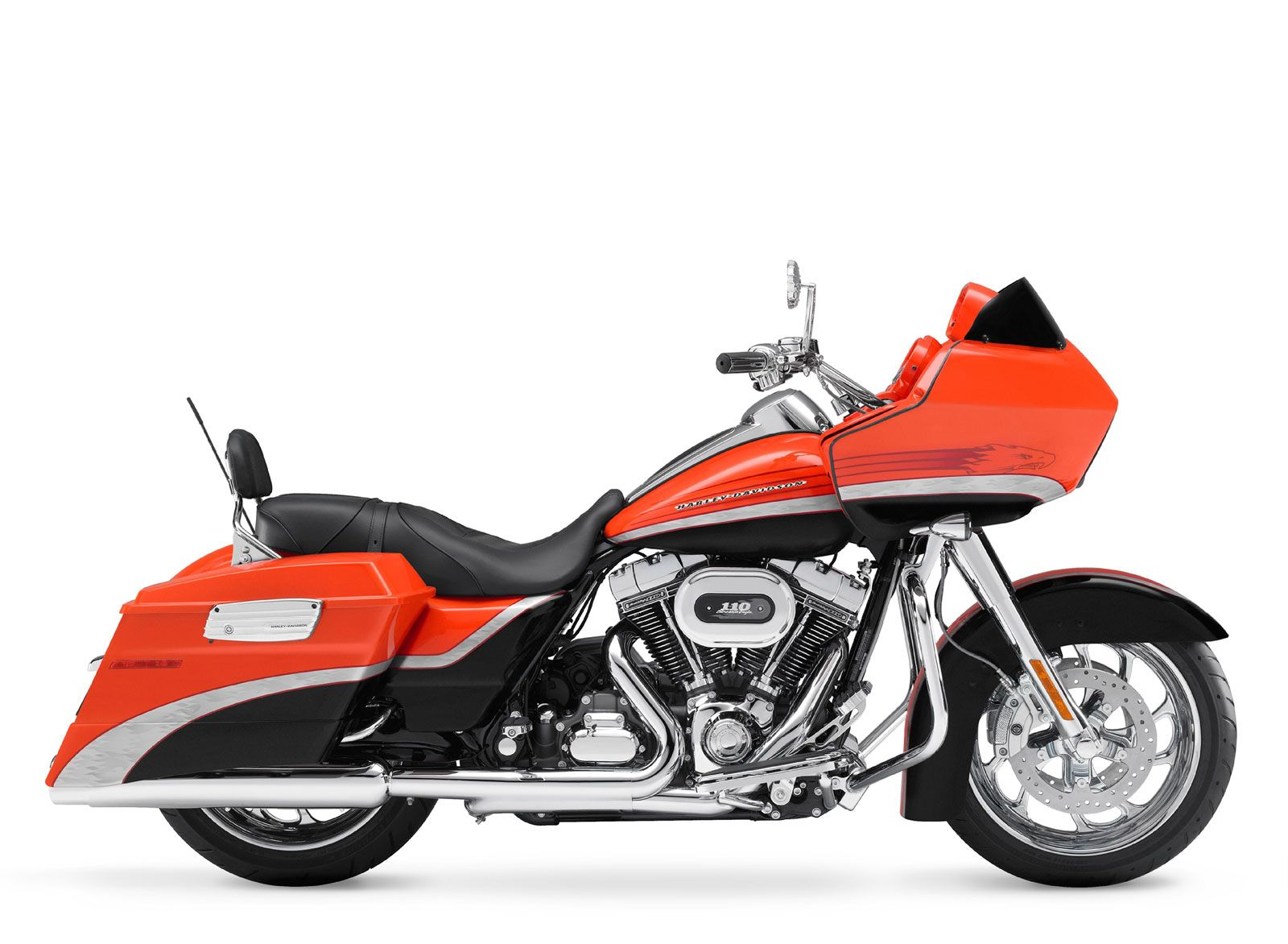 Harley davidson cvo road glide add a detachable tour pack in matching paint and ya got something