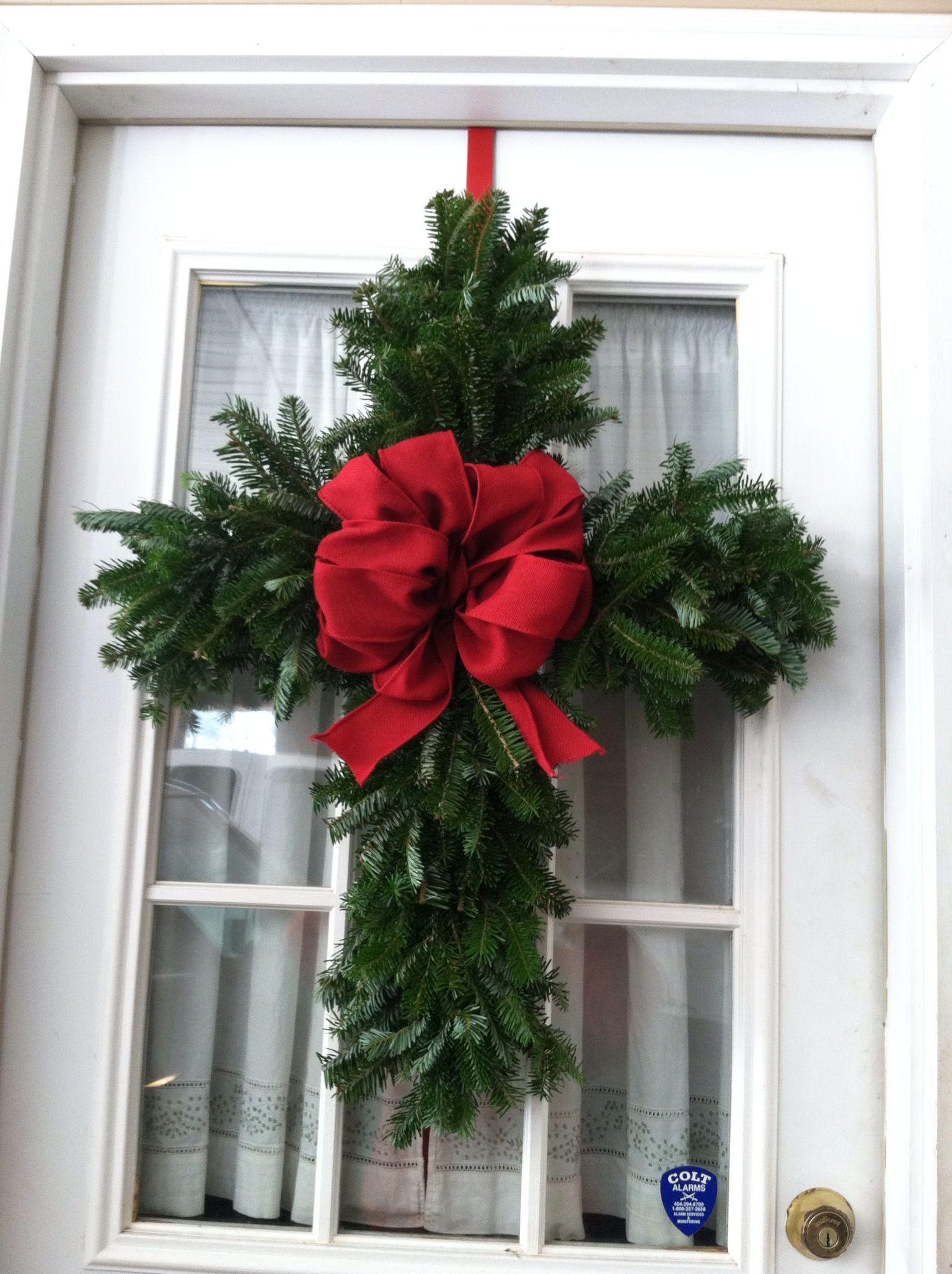 Cross Wreath Craft Ideas Pinterest Cross Wreath And
