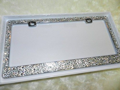 17 best images about license plate frame bling crystallized super chic and gorgeous wwwfashionblingscom on pinterest shops classy and handmade