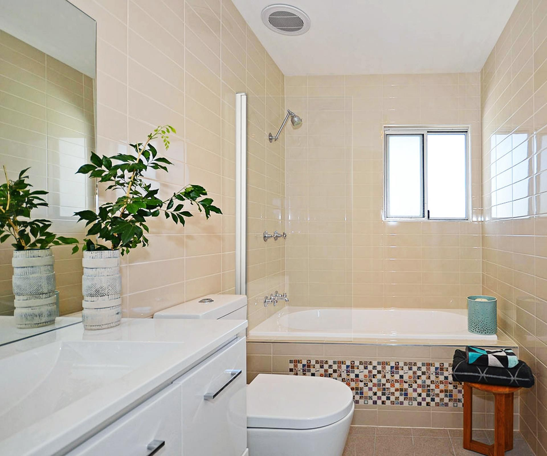 Renovation Expert Cherie Barber Updates A Small 1950S Bathroom For Interesting Updating A Small Bathroom On A Budget Design Ideas