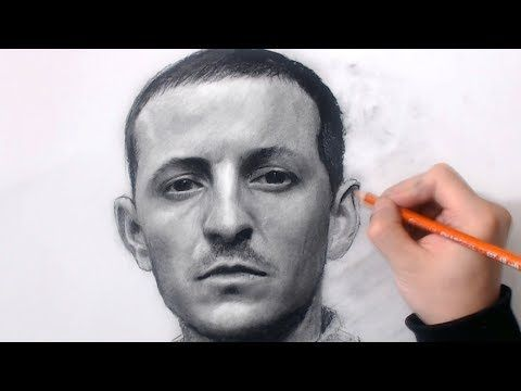 Drawing Linkin Park's Chester Bennington - YouTube