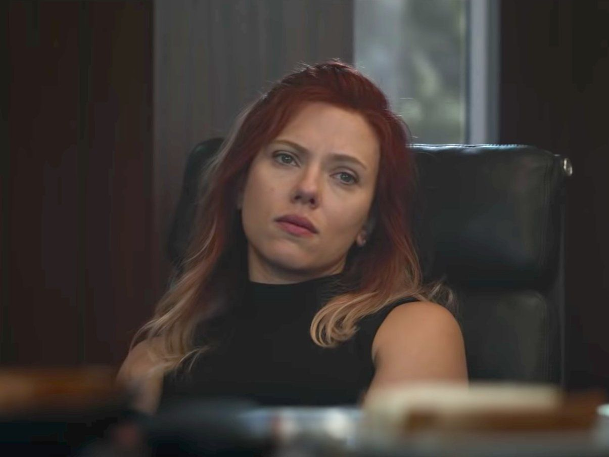 Black Widow S Hair Color In The New Avengers Endgame Trailer Could Be A Hint At A Potential Time Jump Black Widow Marvel Black Widow Avengers New Avengers
