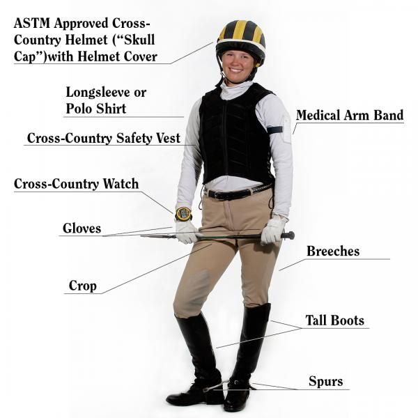 how to wear your hair for a horse show
