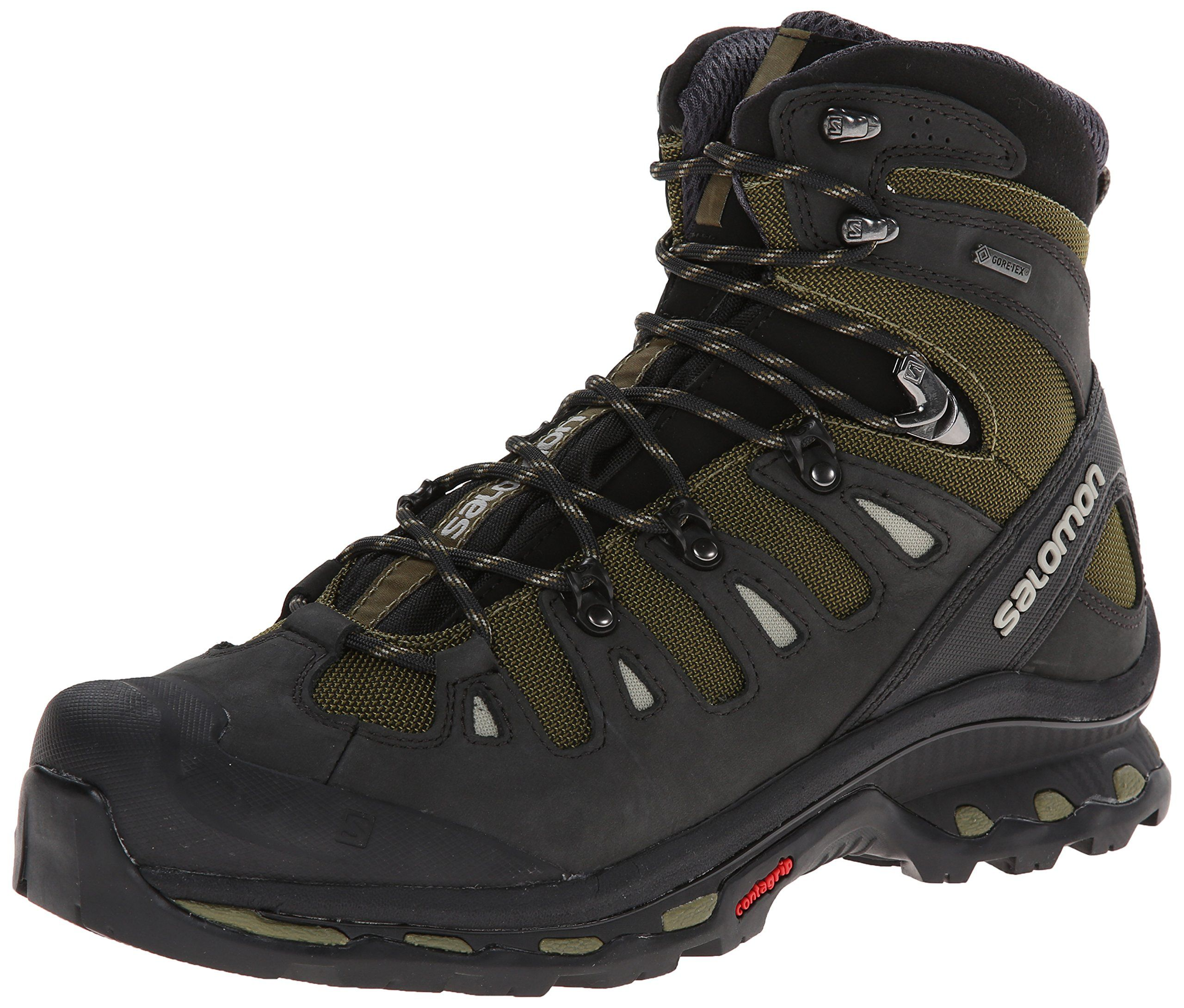 Salomon Men's Quest 4D 2 GTX Hiking Boot, Iguana Green