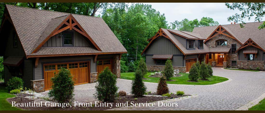 Garage In Front Of House Design Part - 43: Designer Doors :: Custom Wood Garage Doors, Front Entry Doors, Wooden  Shutters And