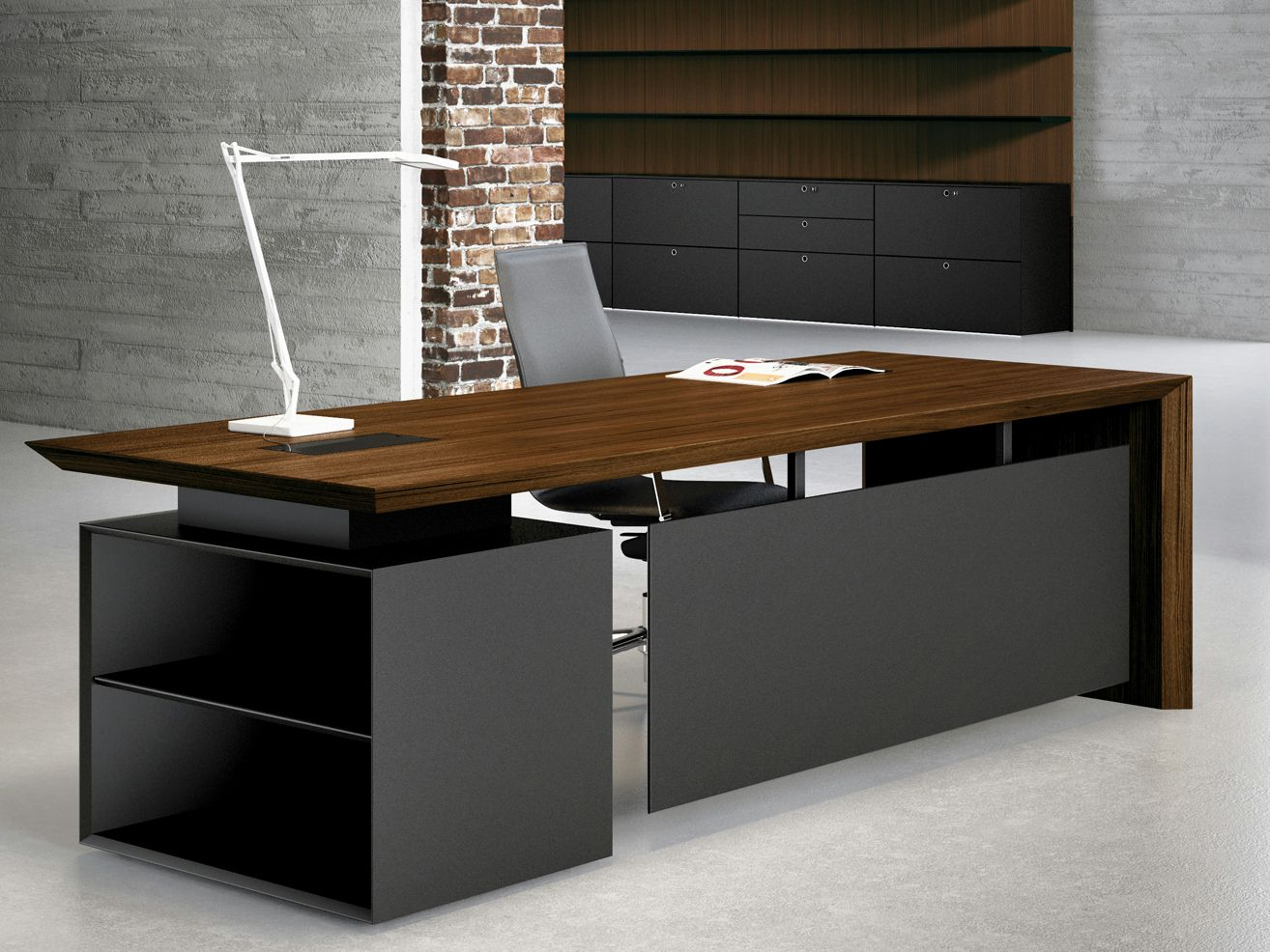 Multipliceo Office Desk By Fantoni Office Desk Designs Office Table Design Modern Office Design
