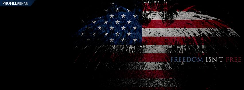 Unique Memorial Day Covers With Freedom Isn T Free Text American Flag Wallpaper Usa Flag Wallpaper Facebook Cover Images