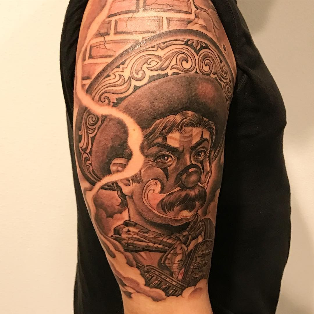 Viva Mexico Skidrowtattoo Mistercartoon Bishoprotary Blackandgreytattoo Tattoo H2oceanproteam H2ocean Mr Cartoon Tattoo Picture Tattoos Cartoon Tattoos