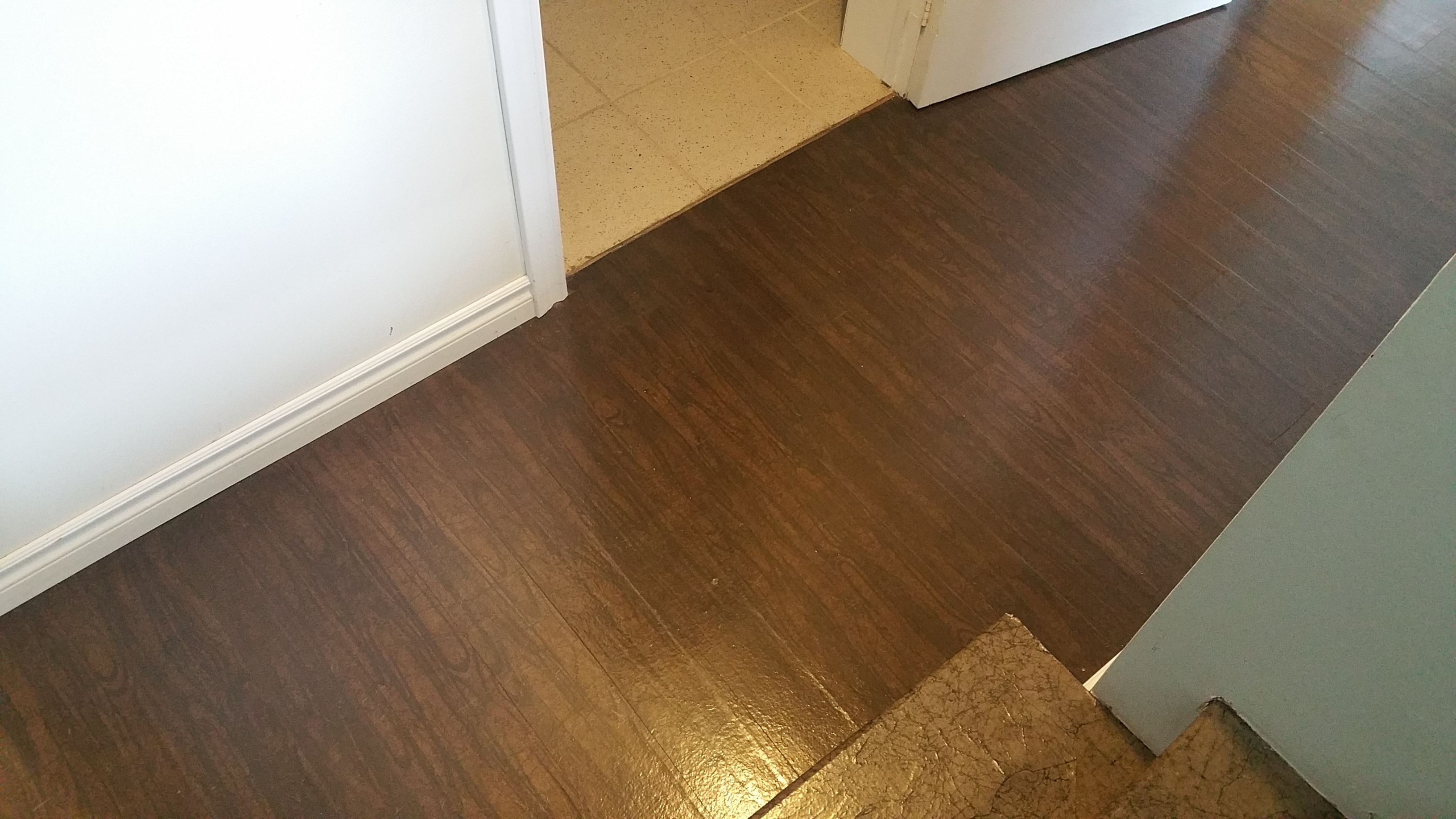 Paper bag flooring complete website for faux wood look for
