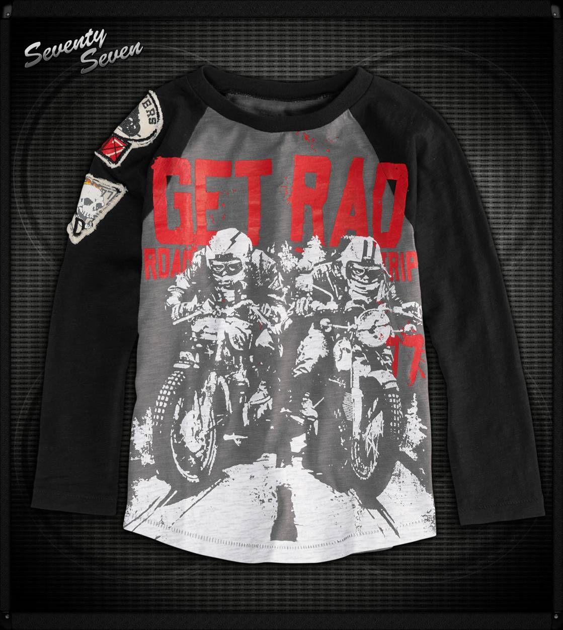 77 Kids Get Rad Bmx Shirt 77kids Boys Getrad Bmx Motorcross