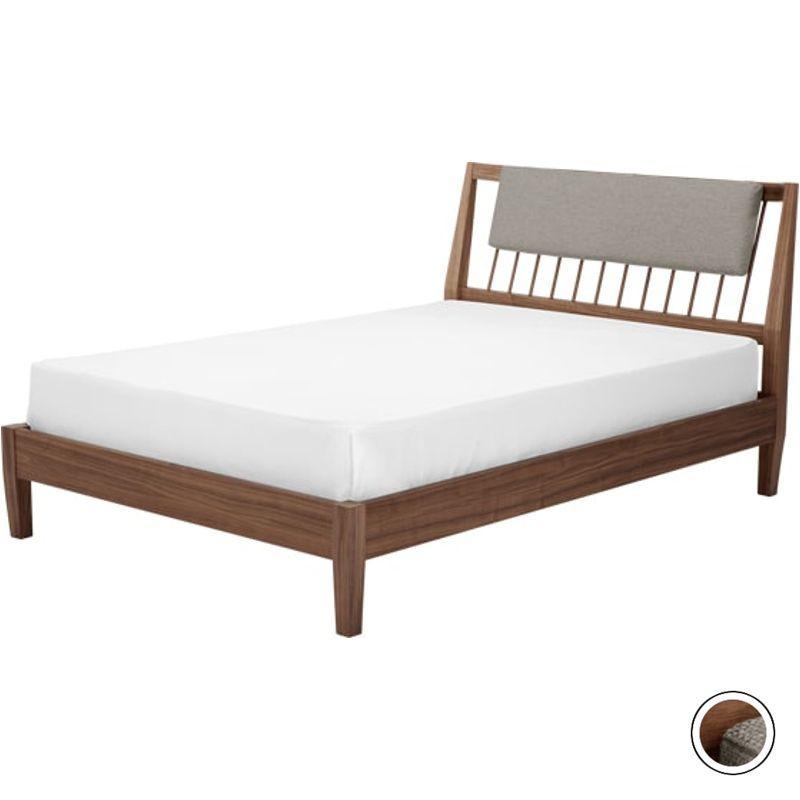 Mara King Size Bed, Walnut from Made.com. Dark Wood. Express ...