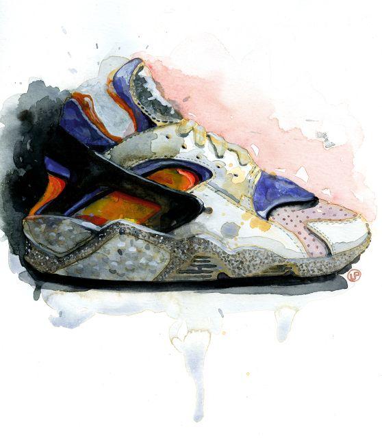 Estrictamente limpiar Colaborar con  Lou Pimentel | Kicks | Sneaker art, Kicks shoes, Fashion illustration  watercolor