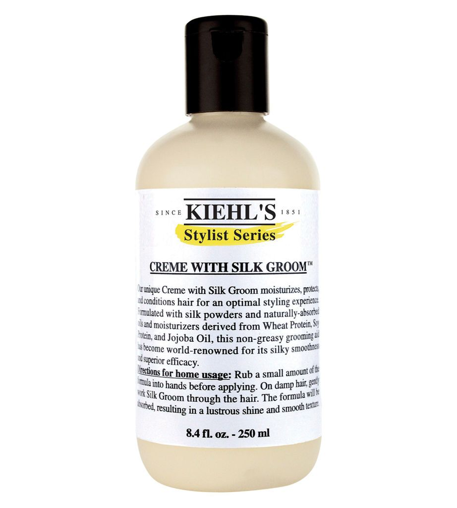 Creme With Silk Groom Non Greasy Hair Styling Cream Kiehl S Kiehls Creme Greasy Hair Hairstyles