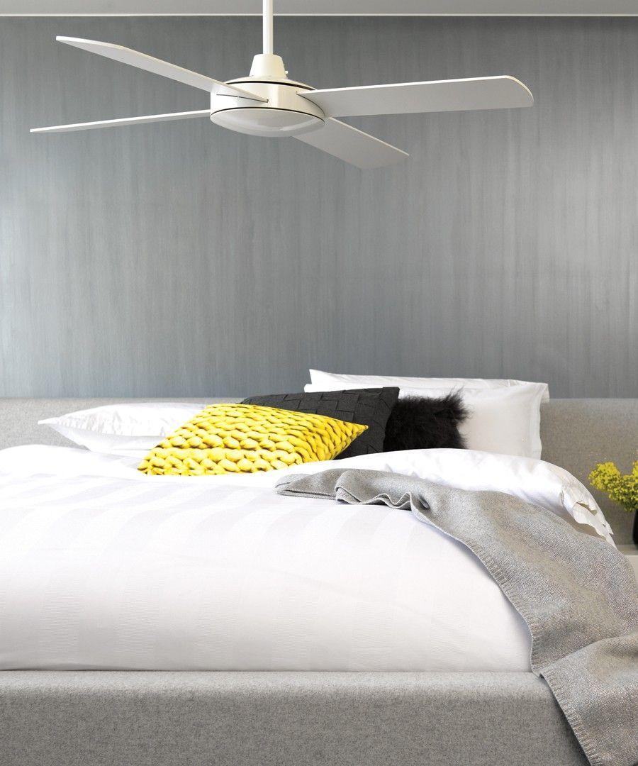 Futura 132cm fan in white fan pinterest fans bedrooms and bedroom fans futura fan in whitefansbeacon lighting aloadofball Gallery