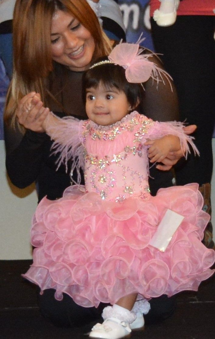 ELECTRA GONZALEZ PARTY DRESS | BABY MISS SAN ANTONIO PAGEANT | Pinterest