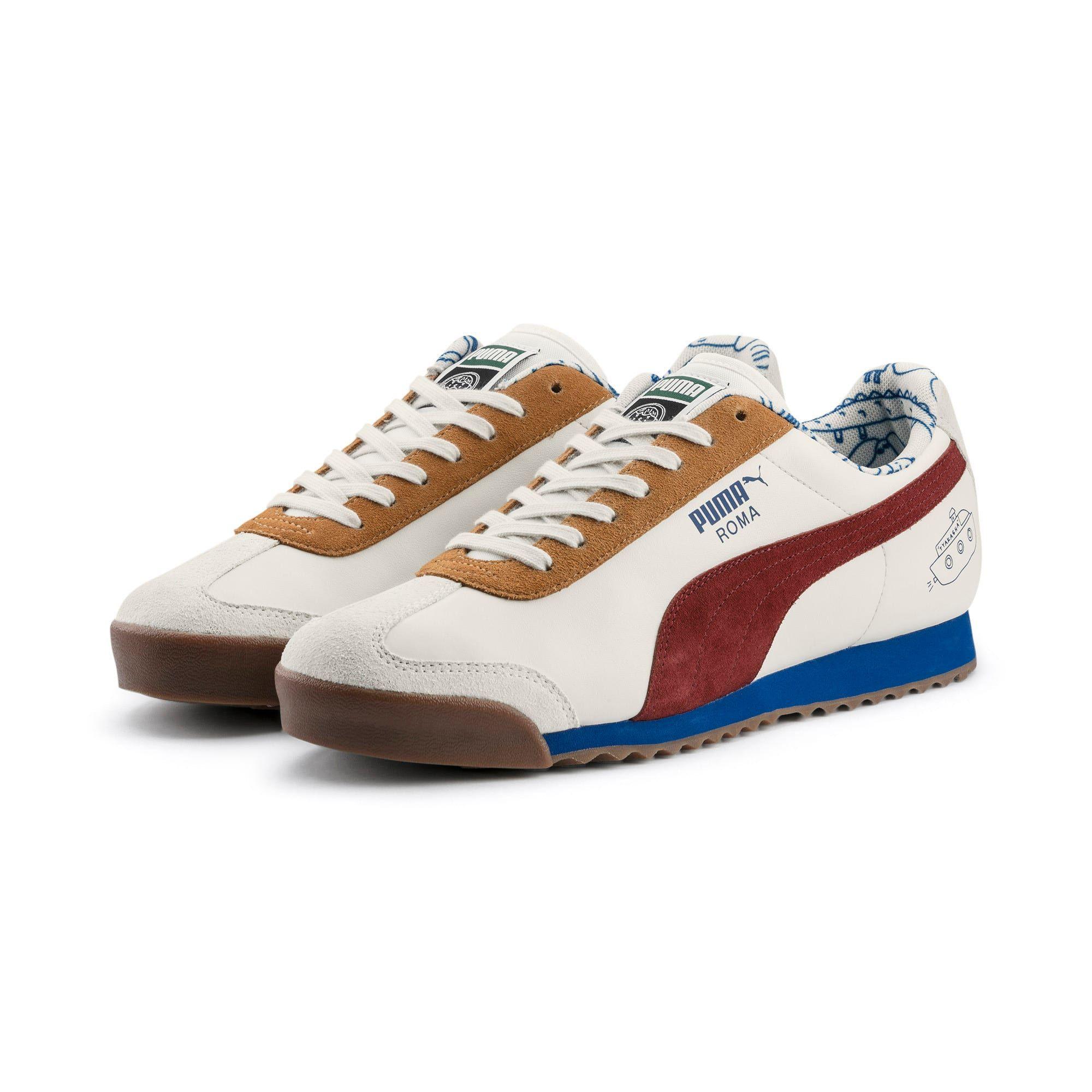 Chaussure PUMA x TYAKASHA Roma | Sneakers, Leather sneakers