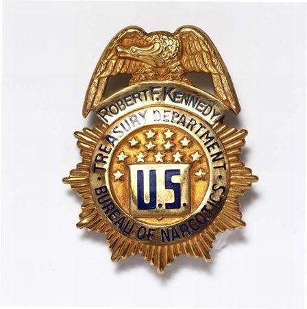 RFK US Treasury Dept Badge