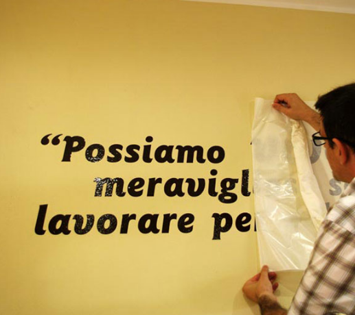 Scritte Adesive Per Pareti Il Blog Pinterest Adesivi Blog E