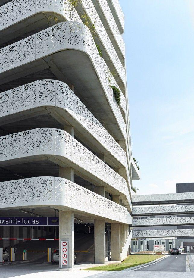 Az Sint Lucas Hospital Car Park By Abscis Architecten デザイン会議 駐車場 デザイン