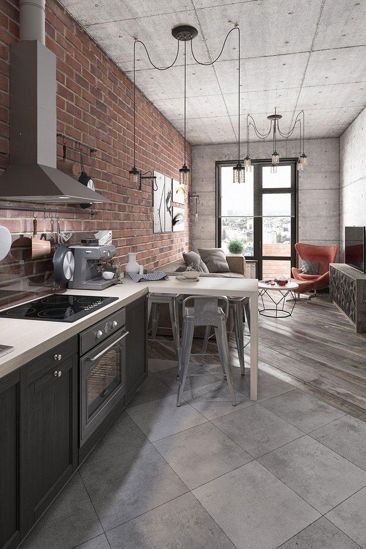 Come arredare una casa piccola in stile industriale dpto interni casa piccola piccole case for Arredamento casa stile contemporaneo