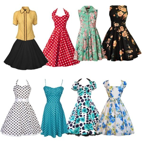 Polyvore '50s Fashions For Women