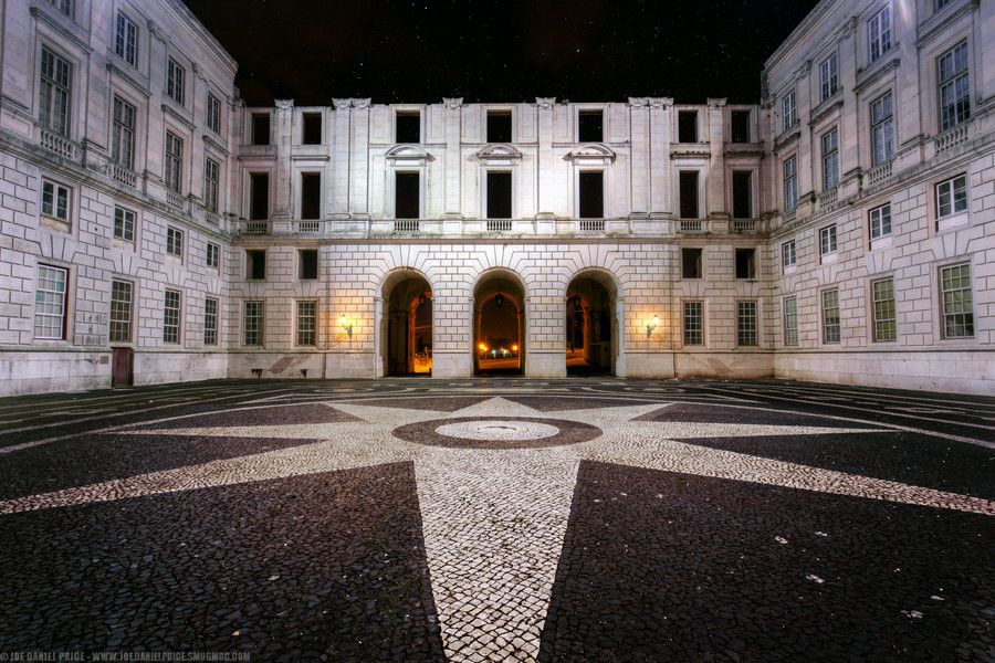 Night time at Ajuda National Palace, Palᅢᄀcio Nacional da Ajuda, Belem, Lisbon, Portugal by Joe Daniel Price on 500px