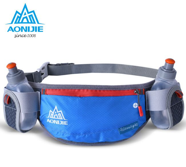 f510713068e7 men in AONIJIE Running Hydration Belt Reflective Running Water Belt ...