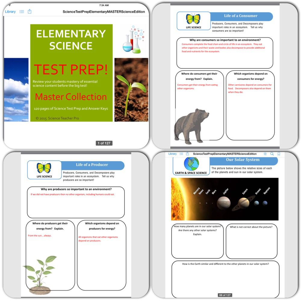 Science test prep https://www.teacherspayteachers.com ...