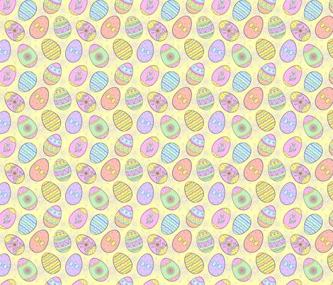 easter fabric by kiyanochka on Spoonflower - custom fabric
