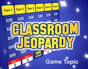 Jeopardy PowerPoint Template Plays Just Like Jeopardy Teaching IdeasTeaching Resources