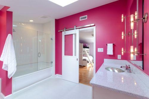 In Farbe Gebadet: Elegante Ideen Für Rosa Badezimmer Designs   #Farben Awesome Ideas