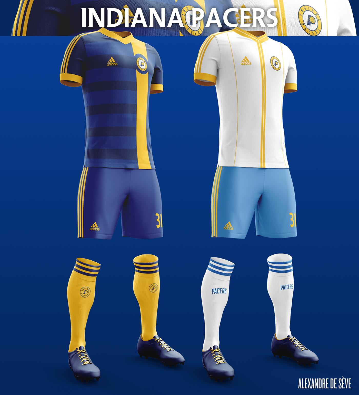 484ea3801b3 NBA football kits on Behance   soccer kit   Soccer kits, Soccer ...