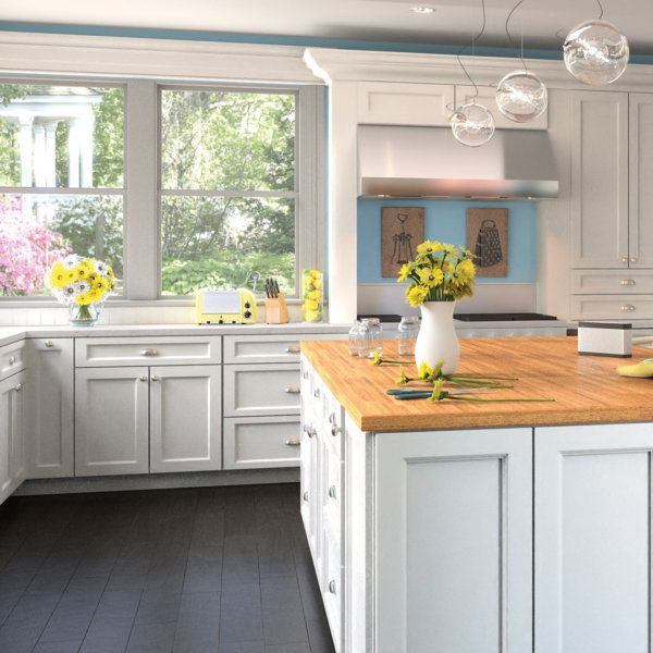 Best Simple Yet Elegant The Uptown White Cabinetry From 400 x 300