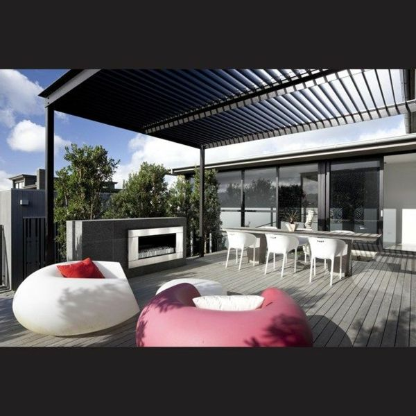 berdachte terrasse 50 top ideen f r terrassen berdachung garten pinterest terrasse. Black Bedroom Furniture Sets. Home Design Ideas
