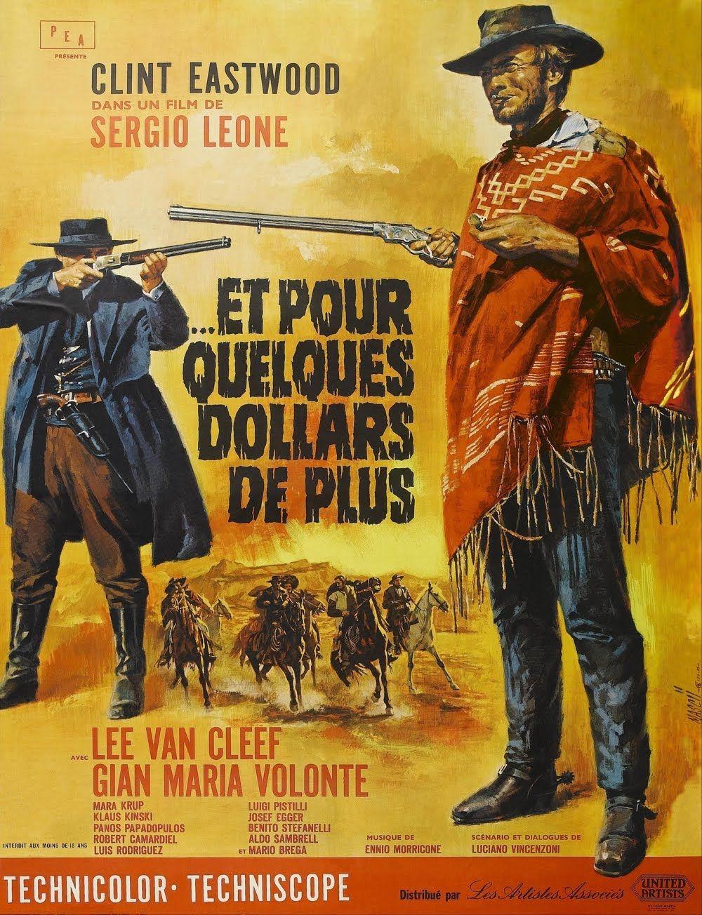 Et Pour Quelques Dollars De Plus 1965 Film Complet Affiche Cinema Films Retro Film