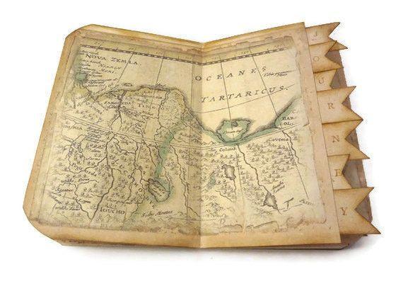 Travel journal travel scrapbook old world map wanderlust journal istria design gumiabroncs Choice Image