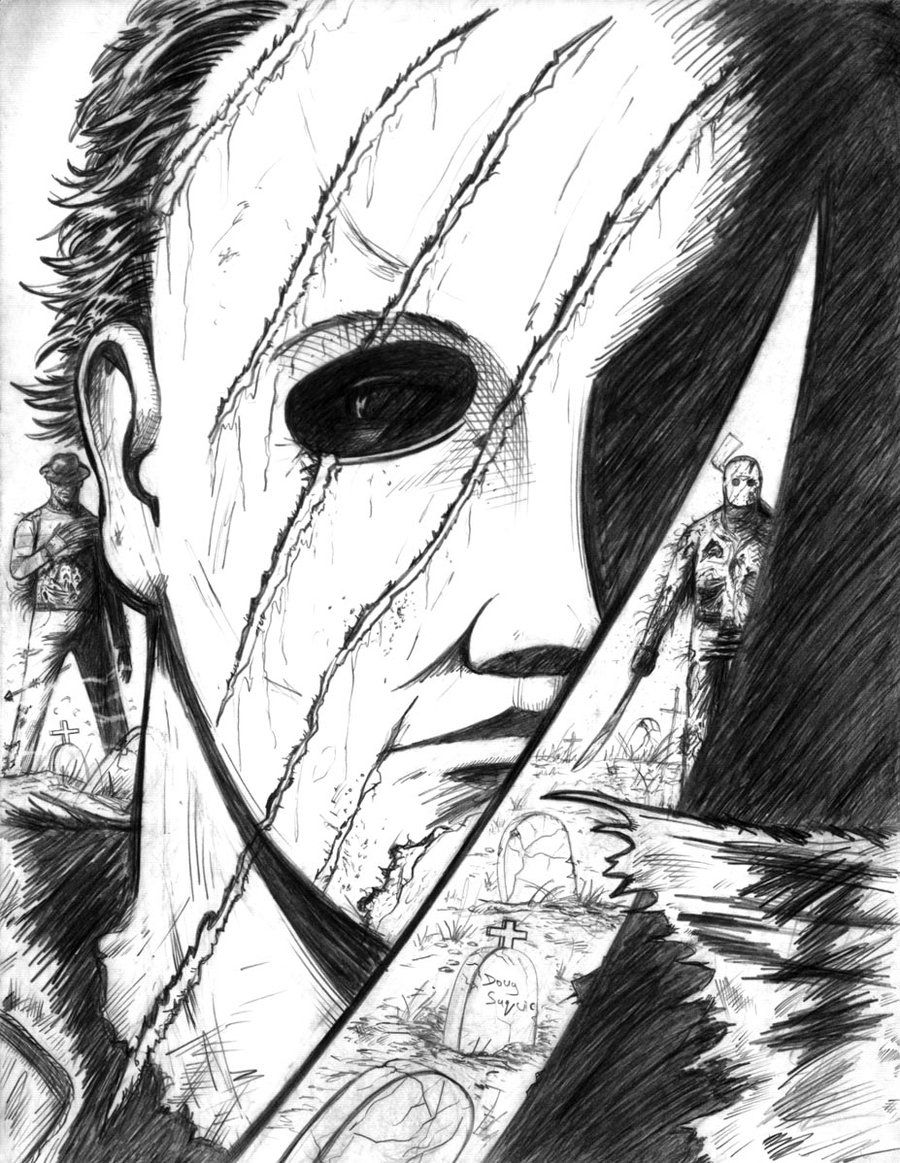 Freddy Vs Jason Michael Myers 2nd Version By DougSQdeviantart On DeviantART