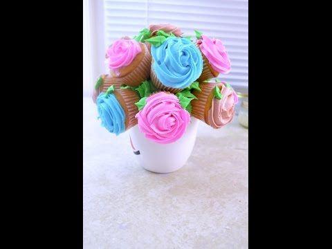 Florero Cupcakes
