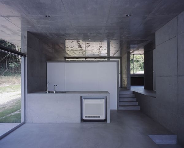 small concrete shower no door | japan home design: Small Japanese ...