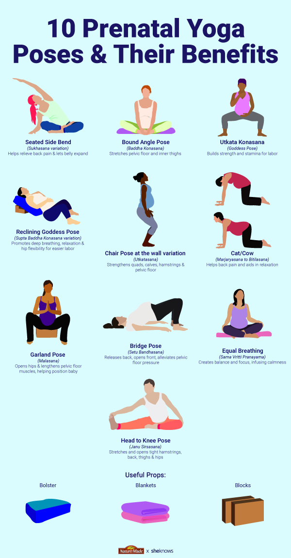 10 Prenatal Yoga Poses & Their Benefits