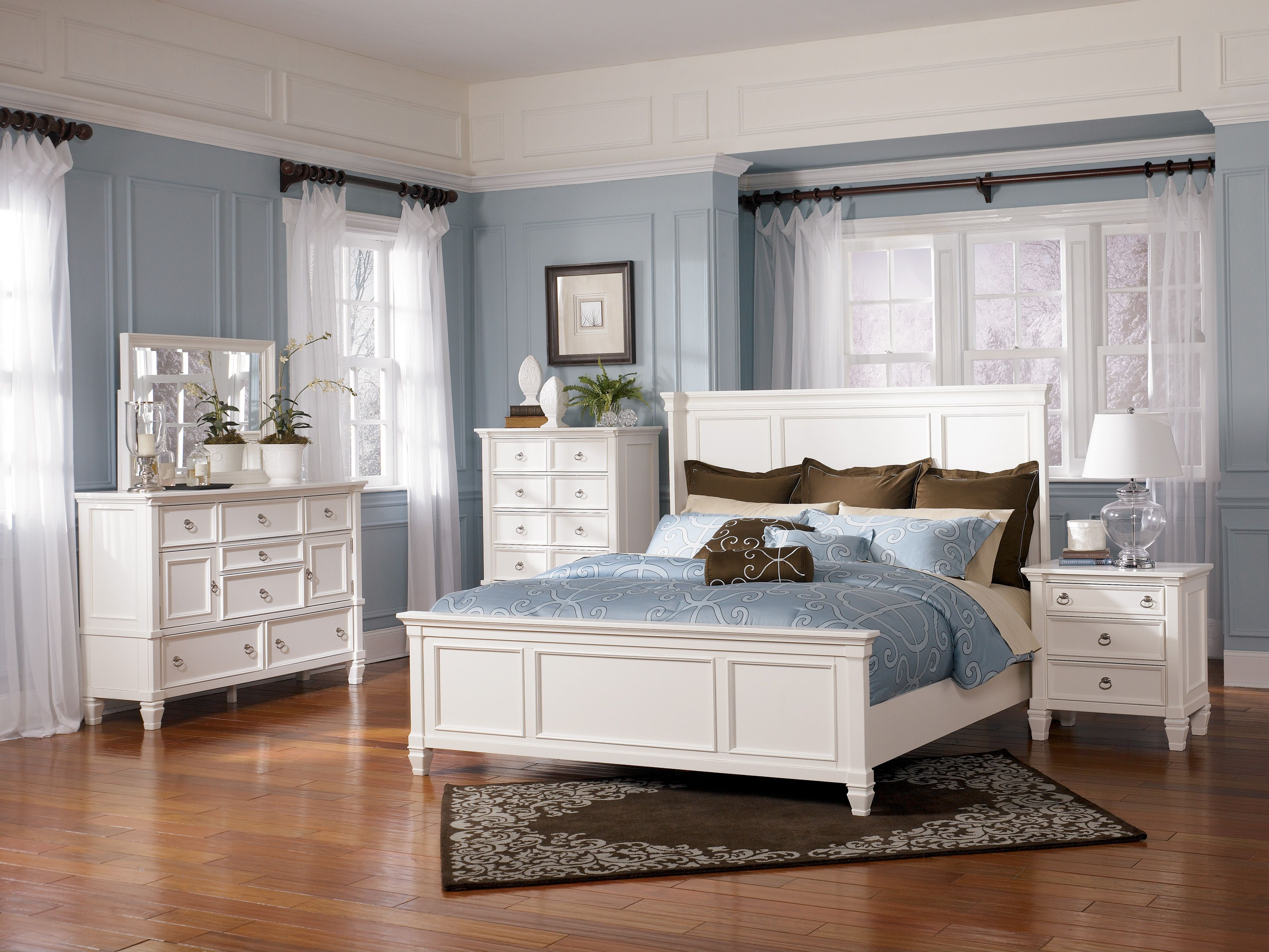 Best Prentice Cottage Style 3 Piece Master Bedroom Set Special 640 x 480