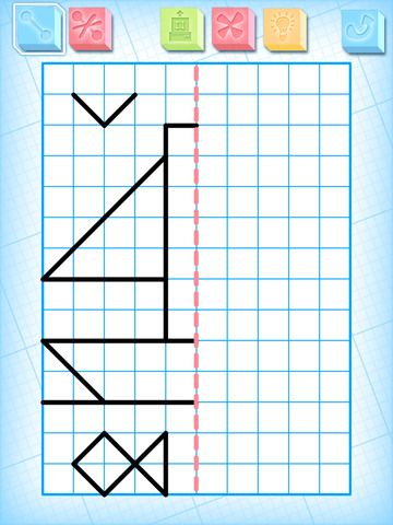 Simetria El Rincon De Aprender Ejercicios De Simetria Actividades De Simetria Carpetas De Escritura
