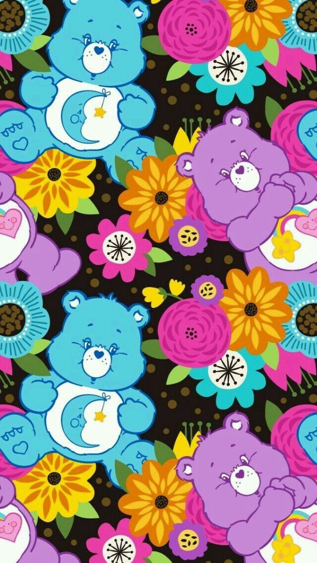 Image Result For Care Bears Wallpaper Care Bears Rainbow Brite
