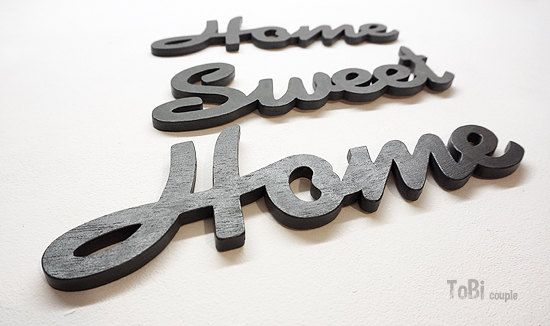home sweet home wooden letter home decor wall sign home sign