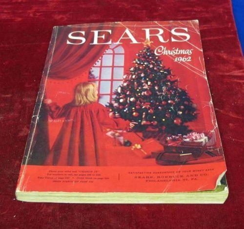Vintage 1962 Sears Roebuck  Company Christmas Wishbook Catalog