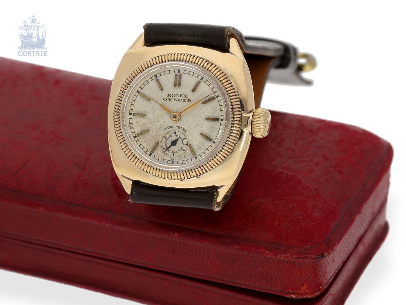 Armbanduhr Rolex Rarität Eines Der Frühesten Bekannten Rolex Chronometer Qualität