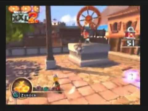 Asterix & Obelix XXL 2: Mission Las Vegum Геймплей PS2 2006