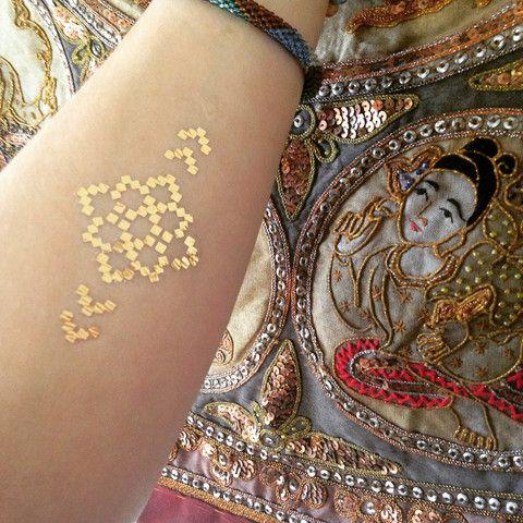 Sacred Symbols Temporary Flash Tattoos