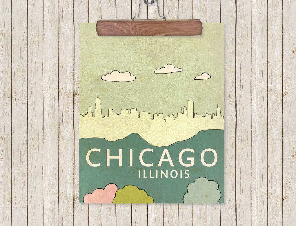 Chicago. | Home. | Pinterest | Chicago poster, Poster wall and Walls