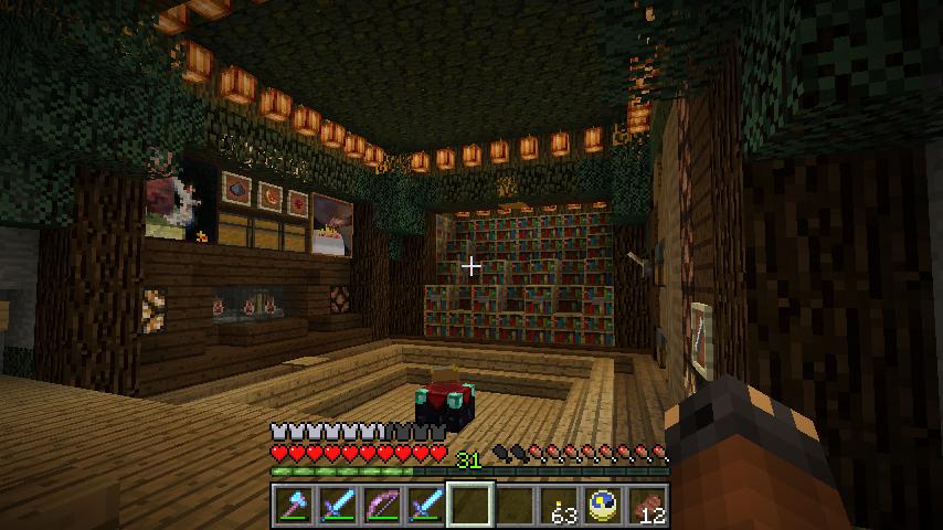 enchanting living room computer desk | minecraft enchanting potion room - Google Search ...
